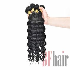 BF Hair Best Match Top Lace Closure With 4 Bundles Silver Grade Brazilian French Wave Virgin Human Hair Extensions - BF Hair