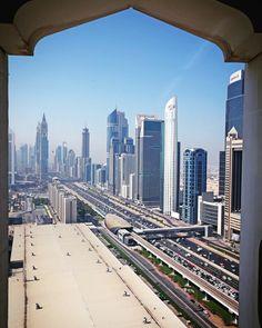 View from the Dubai World Trade Centre.