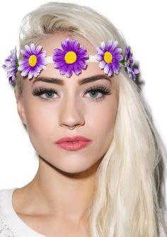 Floral Frenzy Headband   Dolls Kill