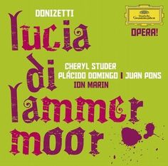 DONIZETTI Lucia di Lammermoor - Studer / Domingo / Marin - Deutsche Grammophon