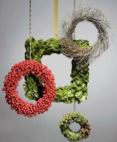 Holiday wreaths that are anything but ordinary