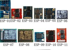 ESP8266 different vesions