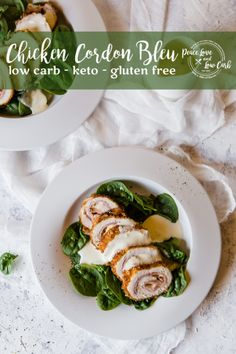 This Keto Chicken Cordon Blue has all the classic components of a carb-laden cordon bleu - ham, cheese, chicken, but with a delicious low carb spin. Ketogenic Recipes, Keto Recipes, Cooking Recipes, Healthy Recipes, Recipes Dinner, Free Recipes, Keto Foods, Keto Meal, Keto Snacks