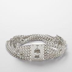 FOSSIL® Jewelry Bracelets:Jewelry Turnlock Chain Bracelet JA5675