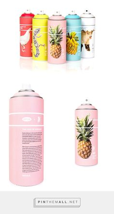 Krylon + Pow! Wow! Hawai'i Limited Edition packaging on Behance by Lili'uolani Pickford curated by Packaging Diva PD. POW WOW School of Art has joined up with Krylon to form a new line.