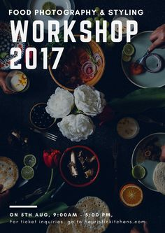Heuristic Kitchens   Food Photography and Styling workshop 2017   http://www.heuristickitchens.com