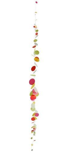 Confetti on a string