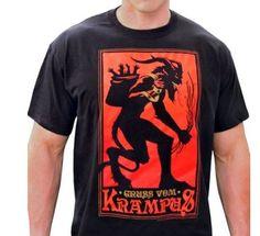 large krampus t-shirt
