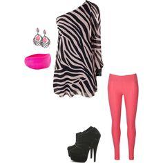 Zebra and pink!