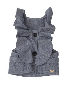 Juicy Couture Chambray Utility Dog Dress