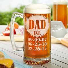 Father's Day 15oz Beer Mug