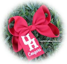University of Houston Cougars Extra Large Hair Bow