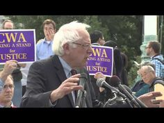 "At a rally outside the Supreme Court, Sen. Bernie Sanders (I-VT) took on the Koch brothers and said, ""Freedom of speech does not equal freedom to buy the United States government."""