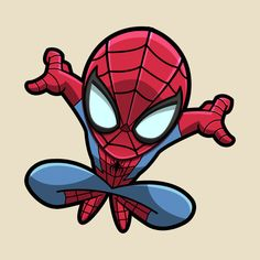 Check out this awesome 'Spidey+Sense' design on Spiderman Chibi, Spiderman Cute, Spiderman Tattoo, Spiderman Drawing, Chibi Marvel, Amazing Spiderman, Marvel Drawings, Disney Drawings, Cartoon Drawings
