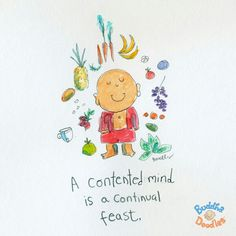 Buddha Doodle by @Mollycules