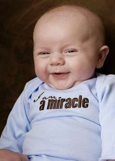 You're indeed a miracle!