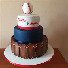 Wedding cake baseball