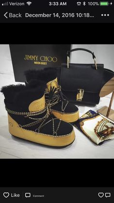 67e762f6ea429e Jimmy Choo Inspired Moon Boot