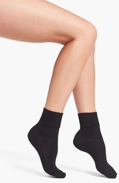 Hue Turncuff Socks (3 for $16) available at #Nordstrom