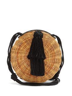 click here to buy wai wai petite balaio woven rattan bag at matchesfashioncom