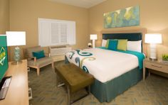 Tropicana Express - Laughlin, NV designed by The Stroud Group - Luxury Suite Bedroom