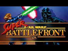 Crean versión de Star Wars Battlefront en 16-bits - http://yosoyungamer.com/2015/10/crean-version-de-star-wars-battlefront-en-16-bits/
