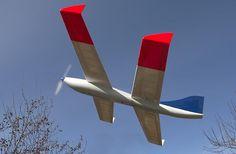 ドラゴンフライ・タンゴ(Draganfly Tango)。カナダに拠点を置くDraganfly Innovations Inc.にて発表されたドローン。ユニークな形状のタンデム翼機で安定性がよいと宣伝されている。滞空時間は50分。
