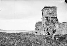 Ruins on Devenish Island, Lough Erne, Co. Fermanagh
