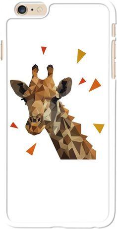 zürafa polygon Kendin Tasarla - iPhone 6 Kılıfı