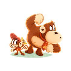Donkey Kong & Diddy Kong