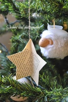 My darling friends   I continue to give you some proposal for Christmas decorations   very simple, very cheap     Cari amici   continuo a ...