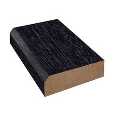 Blackened Legno, Matte Bevel Edge Laminate Trim | Formica
