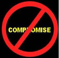 No matter what your standard is,  Sometimes we compromise,