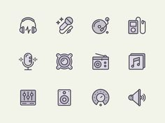 Hey! A new set of icons for you.  Soon on @Creative Market  Stay tuned!