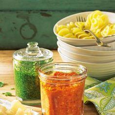 Kräuter: Pesto selber machen - köstliche Rezepte - BRIGITTE
