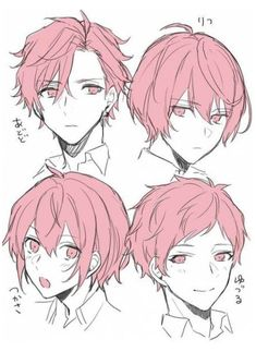 Drawing Male Hair, Guy Drawing, Drawing Poses, Character Drawing, Drawing Ideas, Drawing Tips, Anime Hair Drawing, Character Design, Water Drawing
