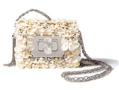 Pearly evening bag...or shall it be for a bride?