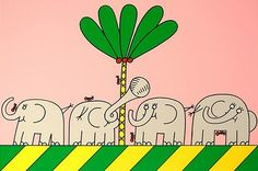 'Five ants are more then four elephants', classic TV-program for children.