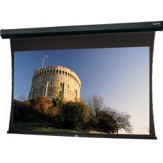 Da-Lite Tensioned Cosmopolitan Electrol Electric Projection Screen Viewing Area: