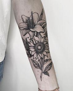 Black Sleeve Tattoo, Sleeve Tattoos, Inkbox Tattoo, Piercing Tattoo, Skull Tattoos, Cool Tattoos, Tatoos, Poodle Tattoo, Mother Nature Tattoos