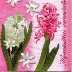 511 le monde des fleurs  1 serviette papier format lunch