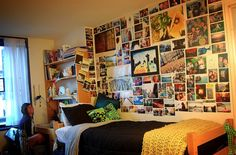 Dorm room photo Collage