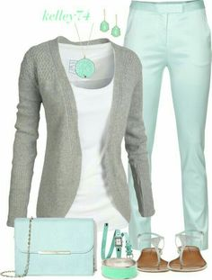 Take a look at the best spring outfits business casual in the photos below and get ideas for your outfits! LOLO Moda: Cute spring fashion for women but different color jeans for me. I only like the cardigan and the… Continue Reading → Casual Jeans, Casual Outfits, Summer Outfits, Early Spring Outfits, Spring Outfits Women Casual, Summer Fashions, Dress Casual, Casual Chic, Mode Outfits
