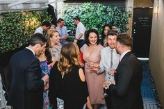 Guests mingling during the wedding reception, drinking wine. Wine Drinks, Wedding Reception, Drinking, Gardens, Victoria, Photography, Marriage Reception, Beverage, Photograph