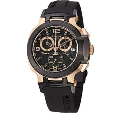 Tissot Men's T048.417.27.057.06 T-Sport Rose-Gold PVD Black Rubber Strap Watch http://dedeuhren.com/tissot-mens-t048-417-27-057-06-t-sport-rose-gold-pvd-black-rubber-strap-watch/