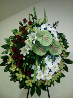 Church Flowers, Funeral Flowers, Wedding Flowers, Creative Flower Arrangements, Funeral Flower Arrangements, Remembrance Flowers, Funeral Sprays, Modern Floral Design, Sympathy Flowers
