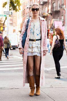 """Julia"" DUO54.com NYC Street Style"