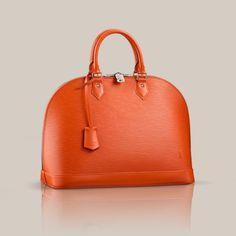 989b1c594f Alma GM via Louis Vuitton Louis Vuitton Official Website, Pouch, Orange,  Belly Pouch