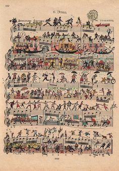 UK-based illustrator and designer Mike Lemanski has breathed life into otherwise 'normal' sheets of music by illustrating miniature people doing their daily routines amongst the notes and bars on the page. You can see the tiny citizens of the page getting a massage, dancing together, riding a gondola, and doing other stuff. The playful intricacy […]