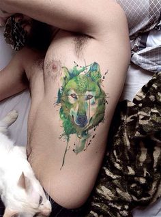12 tatuadores brasileiros experts em sketches e aquarelas - Cássio Magne